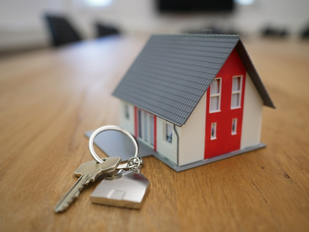 Home with keys